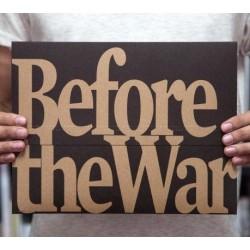 Before the War - 1ère éd. (*signed*)