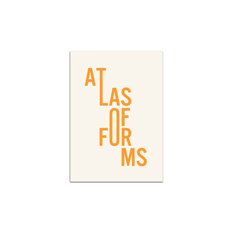 Eric Tabuchi - Atlas of Forms (Poursuite, 2017)