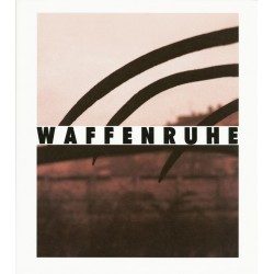 Waffenruhe, a photobook by Michael Schmidt - Cover