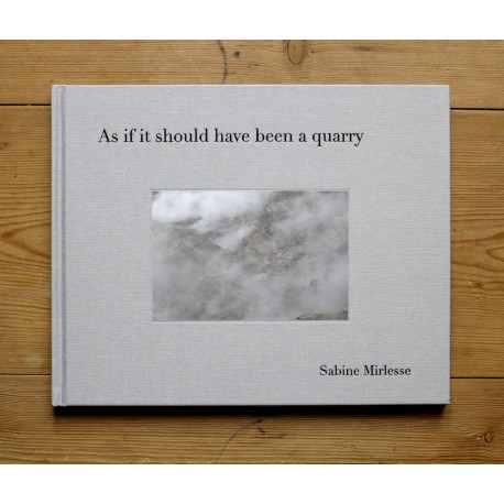 Sabine Mirlesse - As if it should have been a quarry (Damiani, 2013)