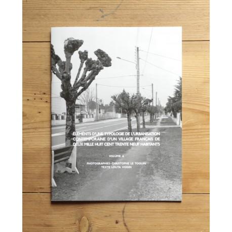 Christophe Le Toquin - éléments d'une typologie de l'urbanisation - Vol.4 (Auto-publié, 2014)