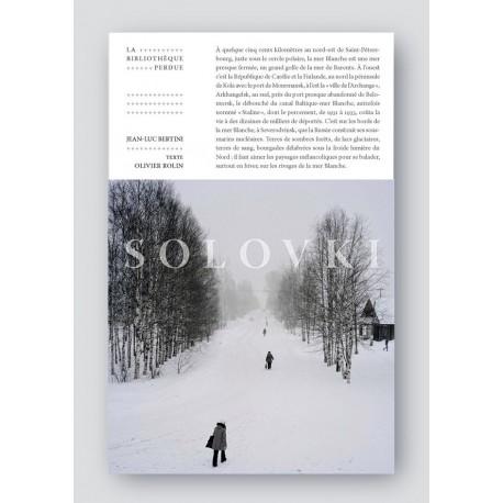 Jean-Luc Bertini - Solovki, la bibliothèque perdue (Le bec en l'air, 2014)