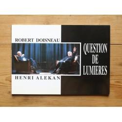 Robert Doisneau / Henri Alekan - Question de lumières (Stratem, 1993)