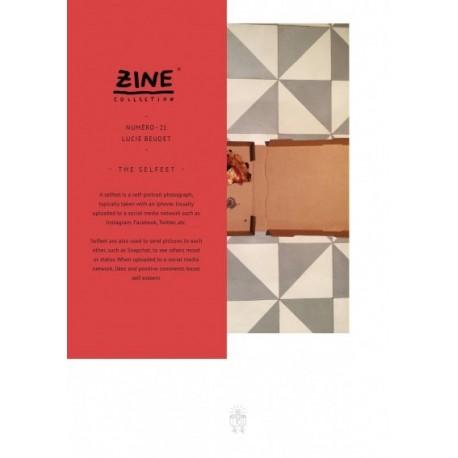Lucie Beudet - Zine N° 21 - The Selfeet (Editions Bessard, 2015)