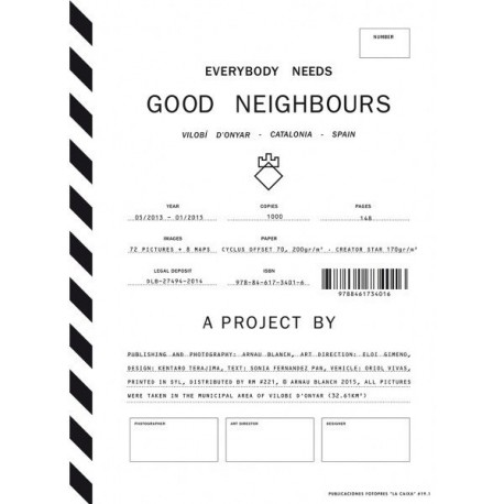 Arnau Blanch - Everybody Needs Good Neighbours (Editorial RM, 2015