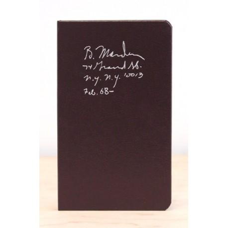 Brice Marden - Notebook Feb. 1968 - (Karma, 2015)