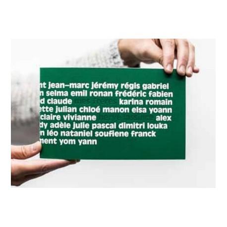 Hervé Lassïnce - Mes frères (Granon éditions, 2015)