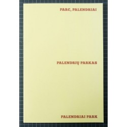 Pierre-Lin Renié - Palendriai Park (Self-published, 2015)