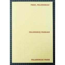 Pierre-Lin Renié - Parc, Palendriai (Auto-publié, 2015)