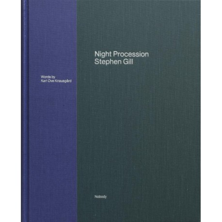 Night Procession, livre photo signé par Stephen Gill