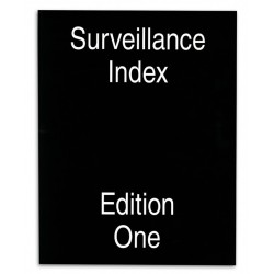 Surveillance Index / Edition One, livre photo de Mark Ghuneim