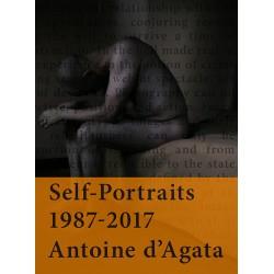 Self-Portraits 1987-2017, signé par Antoine d'Agata - Couv