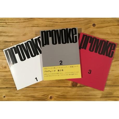 Provoke - Complete Reprint (Nitesha, 2018)