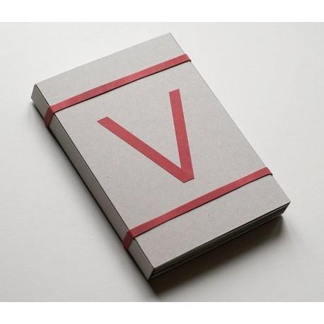 "Julia Borissova - ""V"" Zine Set (Self-published, 2020)"