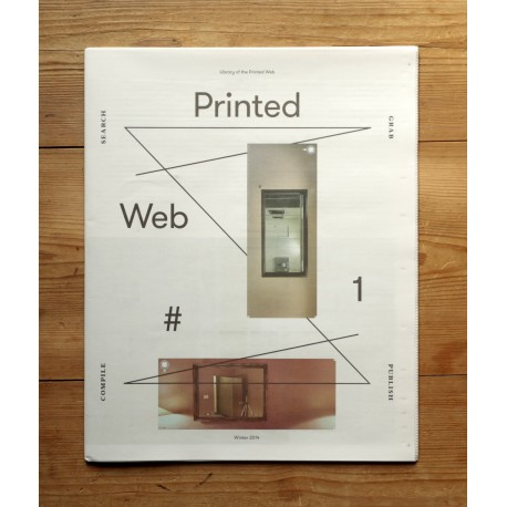 Paul Soulellis - Printed Web No. 1 (Library of the Printed Web, 2014)