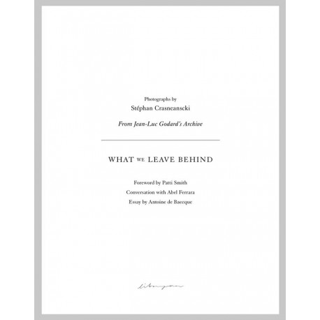 Stephan Crasneanscki - What We Leave Behind (Libraryman, 2021)