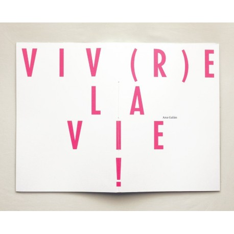 Ana Galan - Viv(r)e la Vie ! (Self-published, 2014)