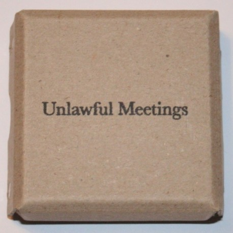 Lina Hashim - Unlawful Meetings (Self-published, 2014)