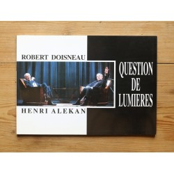 Robert Doisneau / Henri Alekan - Question de lumières (Stratem, 1993)