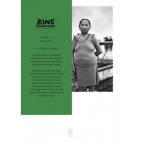 Edu Simões - Zine N° 26 - O Inferno Verde (Editions Bessard, 2015)