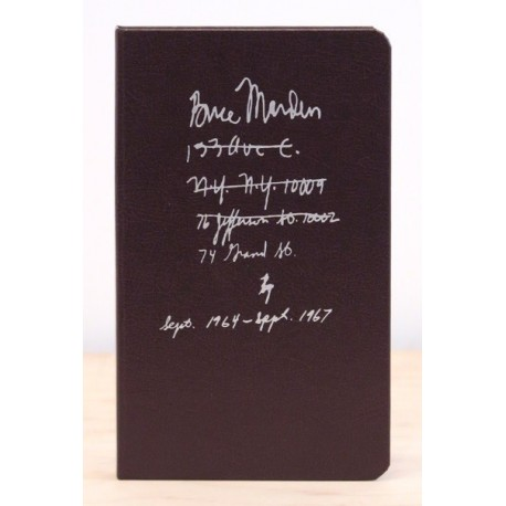 Brice Marden - Notebook Sept. 1964 - Sept. 1967 (Karma, 2015)