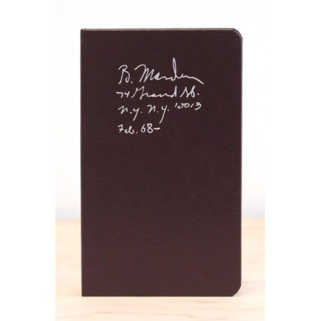 Brice Marden - Notebook Feb. 1968 - (Karma, 2015)