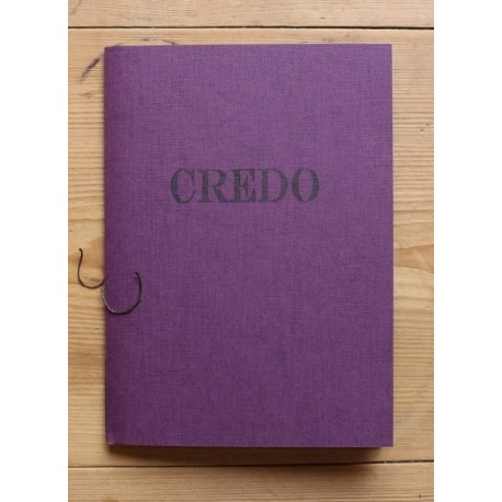 Credo (*signé*)