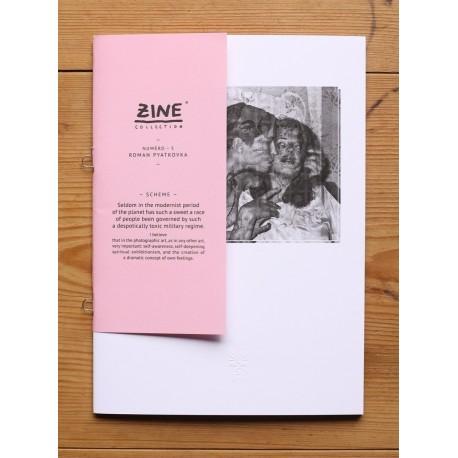 Roman Pyatkovka - Zine N°5 - Scheme (Éditions Bessard, 2012)
