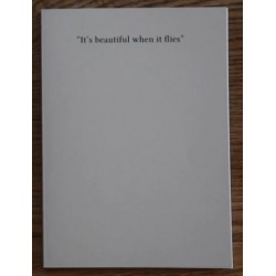 Rinske Former - It's Beautiful When It Flies (Self-published, 2016)