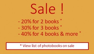 Addicted to photobooks? Get your kicks for less from a list of selected books!